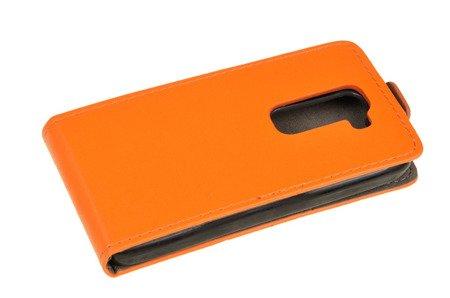 ETUI KABURA FLEXI do LG G2 Mini D620 D620r D620k pomarańczowy