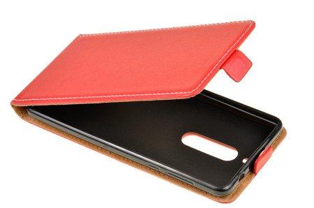 ETUI KABURA FLEXI do Nokia 5 / Nokia 5 Dual Sim czerwony