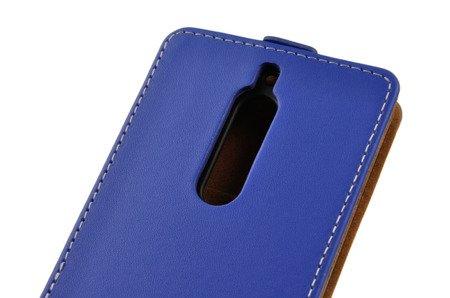 ETUI KABURA FLEXI do Nokia 5 / Nokia 5 Dual Sim niebieski
