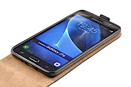ETUI KABURA FLEXI do SAMSUNG Galaxy J7 2016 J710 czarny