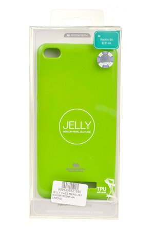 ETUI NAKŁADKA MERCURY GOOSPERY JELLY CASE do Xiaomi Redmi 4A limonka