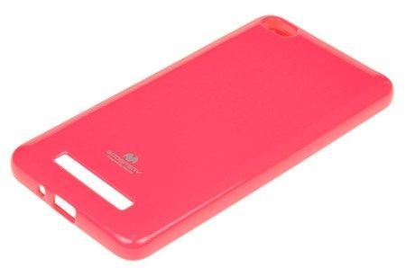 ETUI NAKŁADKA MERCURY GOOSPERY JELLY CASE do Xiaomi Redmi 4A różowy