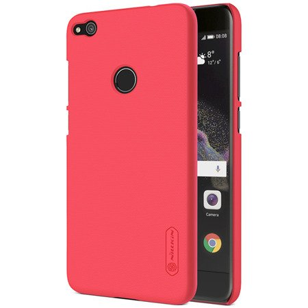 ETUI NILLKIN SUPER FROSTED SHIELD CASE do HUAWEI P8 Lite 2017 / P9 Lite 2017 / HONOR 8 Lite czerwony