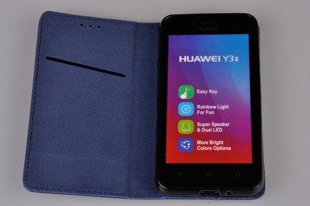ETUI SMART W2 do HUAWEI Y3 II  niebieski