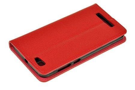 ETUI SMART W2 do ZTE BLADE A612 czerwony