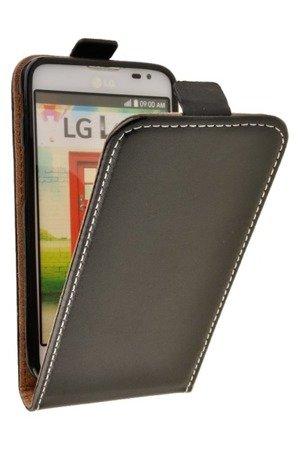 Etui Kabura Flexi Rubber do LG L65 / L70 czarny