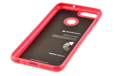 Etui Mercury Goosper Jelly Case do HUAWEI P Smart różowy