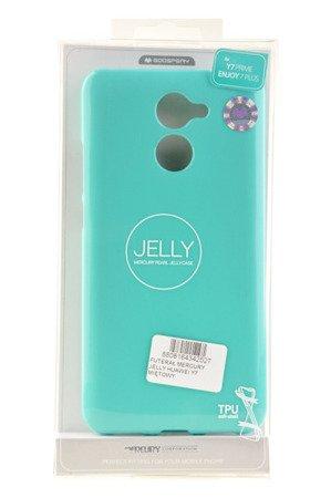 Etui Mercury Goosper Jelly Case do HUAWEI Y7 2017 miętowy