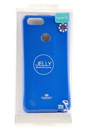 Etui Mercury Goosper Jelly Case do Huawei Honor 7X niebieski