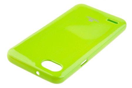 Etui Mercury Goosper Jelly Case do LG Q6 limonka