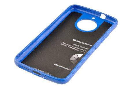 Etui Mercury Goosper Jelly Case do MOTOROLA MOTO G5S niebieski