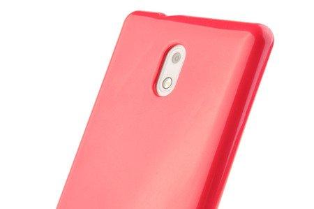 Etui Mercury Goosper Jelly Case do Nokia 3 różowy