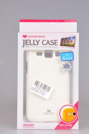 Etui Mercury Goosper Jelly Case do SAMSUNG GALAXY J1 J100 (J1 2015) biały