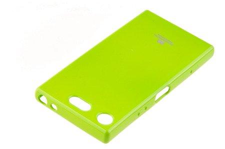 Etui Mercury Goosper Jelly Case do SONY XPERIA XZ1 Compact limonka