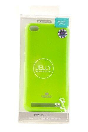 Etui Mercury Goosper Jelly Case do XIAOMI REDMI 5A limonka