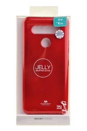 Etui Mercury Goospery Jelly Case do LG K41s / K51s czerwony