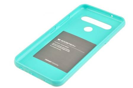 Etui Mercury Goospery Jelly Case do LG K61 / Q61 miętowy