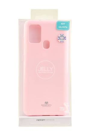 Etui Mercury Goospery Jelly Case do Samsung Galaxy A21s pudrowy róż