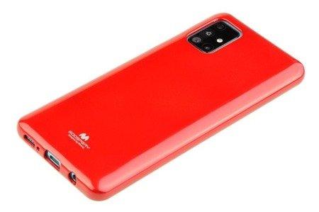 Etui Mercury Goospery Jelly Case do Samsung Galaxy A31 czerwony