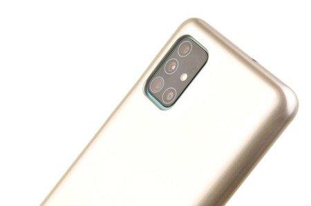 Etui Mercury Goospery Jelly Case do Samsung Galaxy A31 złoty