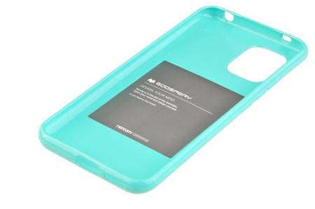 Etui Mercury Goospery Jelly Case do Xiaomi Mi 10 Lite 5G miętowy