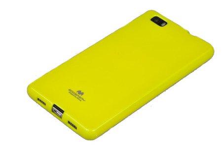 Etui Nakładka Mercury Goospery Jelly Case do HUAWEI P8 Lite limonka
