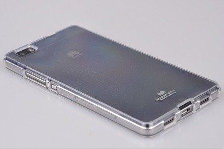 Etui Nakładka Mercury Goospery Jelly Case do HUAWEI P8 Lite przezroczysty