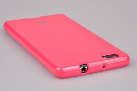 Etui Nakładka Mercury Goospery Jelly Case do HUAWEI P8 Lite różowy