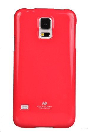 Etui Nakładka Mercury Goospery Jelly Case do SAMSUNG GALAXY S5 G900 / S5 NEO G903 różowy