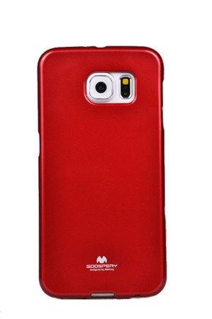 Etui Nakładka Mercury Goospery Jelly Case do SAMSUNG GALAXY S6 G920 czerwony