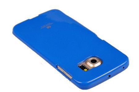 Etui Nakładka Mercury Goospoery Jelly Case do SAMSUNG GALAXY S6 EDGE G925 niebieski