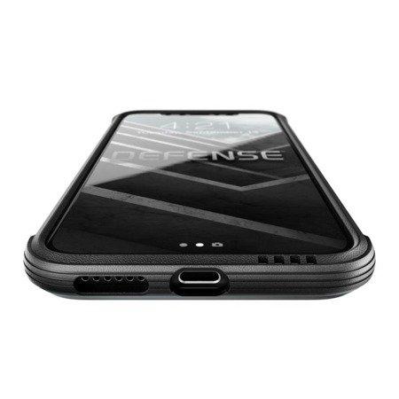 Etui Nakładka X-doria Defence Lux Leather do IPHONE X/10  czarny