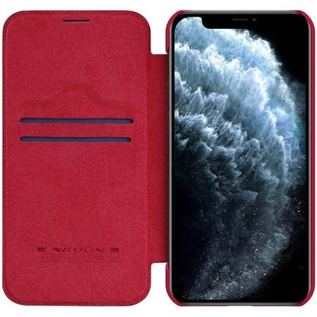 Etui Nillkin Qin case do Apple iPhone 12 / 12 Pro czerwony