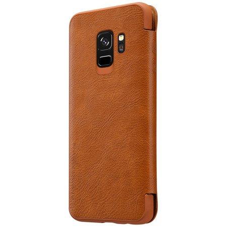 Etui Nillkin Qin leather case do SAMSUNG GALAXY S9 G960 brąz