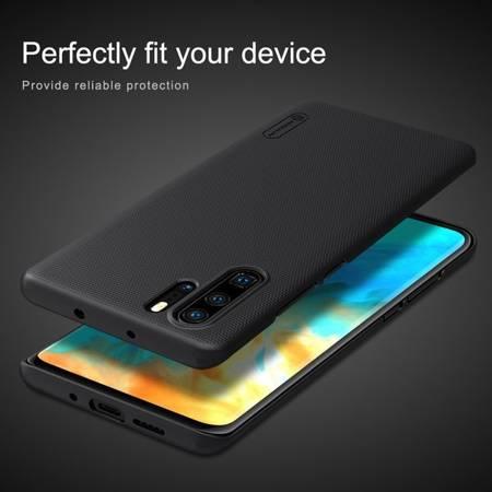 Etui Nillkin Super Frosted Shield do Huawei P30 Pro czarny
