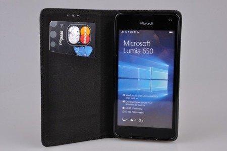Etui Smart W1 do MICROSOFT  Lumia 650 czarny