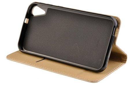 Etui Smart W2 do HTC DESIRE 830 złoty