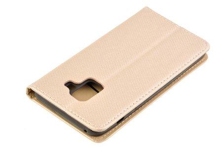 Etui Smart W2 do SAMSUNG GALAXY A8 2018 A530 złoty