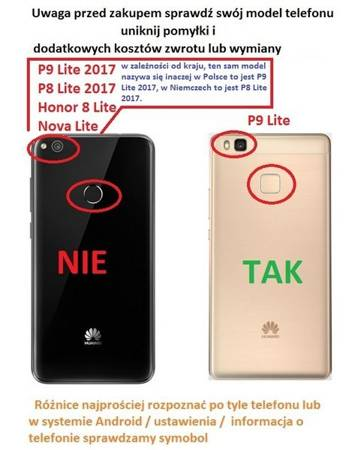 Etui Smart do Huawei P9 Lite złoty