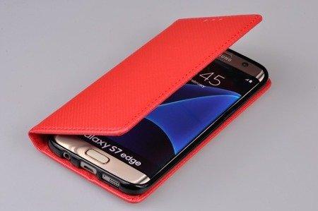 Etui Smart do SAMSUNG GALAXY S7 Edge G935 czerwony