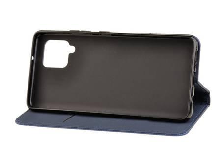 Etui Smart do Samsung Galaxy A42 5G niebieski