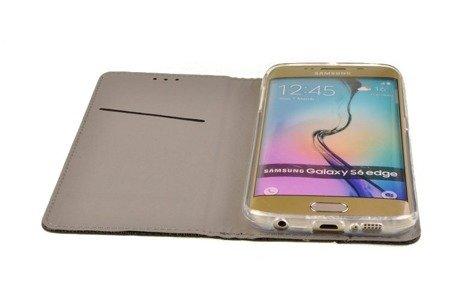 Etui Smart do Samsung Galaxy S6 Edge czarny