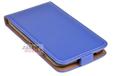 Etui kabura Flexi do alcatel Pixi 4 5.0 5045 niebieski