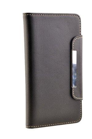 Etui portfel Case do SAMSUNG GALAXY NOTE 2 N7100 czarny
