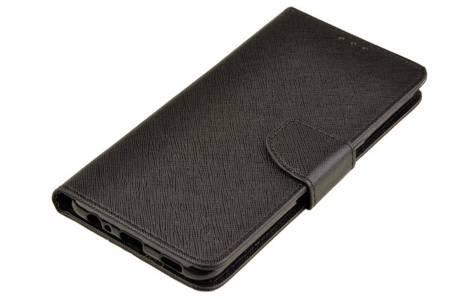 Etui portfel Fancy Case do LG K41s / K51s czarny