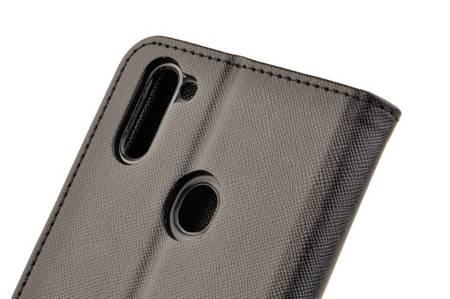 Etui portfel Fancy Case do Samsung Galaxy M11 / A11 czarny