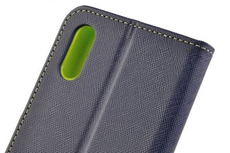 Etui portfel Fancy Case do Xiaomi Redmi 9A / 9AT granatowy