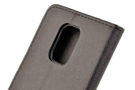Etui portfel Fancy Case do Xiaomi Redmi Note 9S / 9 Pro / 9 Pro Max czarny