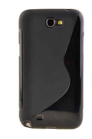 Etui silikonowe S-Case do SAMSUNG GALAXY NOTE 2 N7100 N7105 czarny