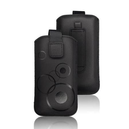 Etui wsuka na rzep do Apple iPhone 12 Pro Max czarny